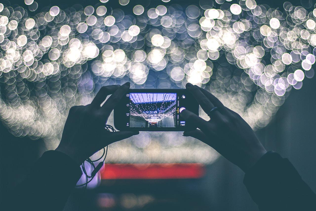 filmer avec smartphone