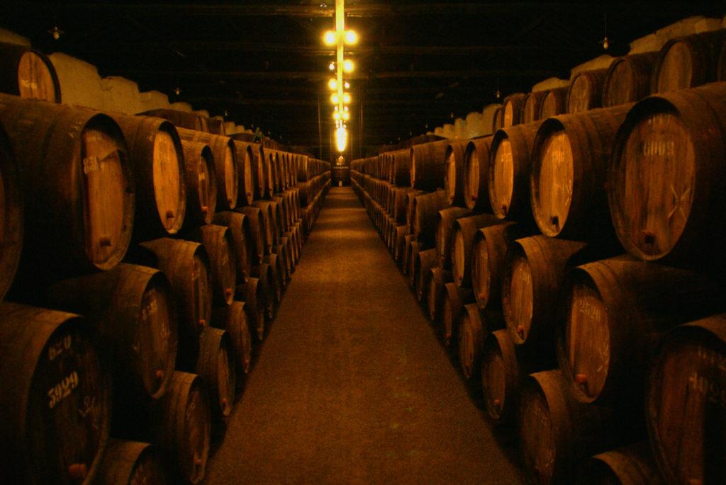 cave à vin porto