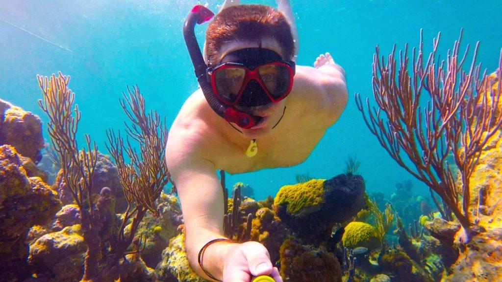filmer sous l'eau