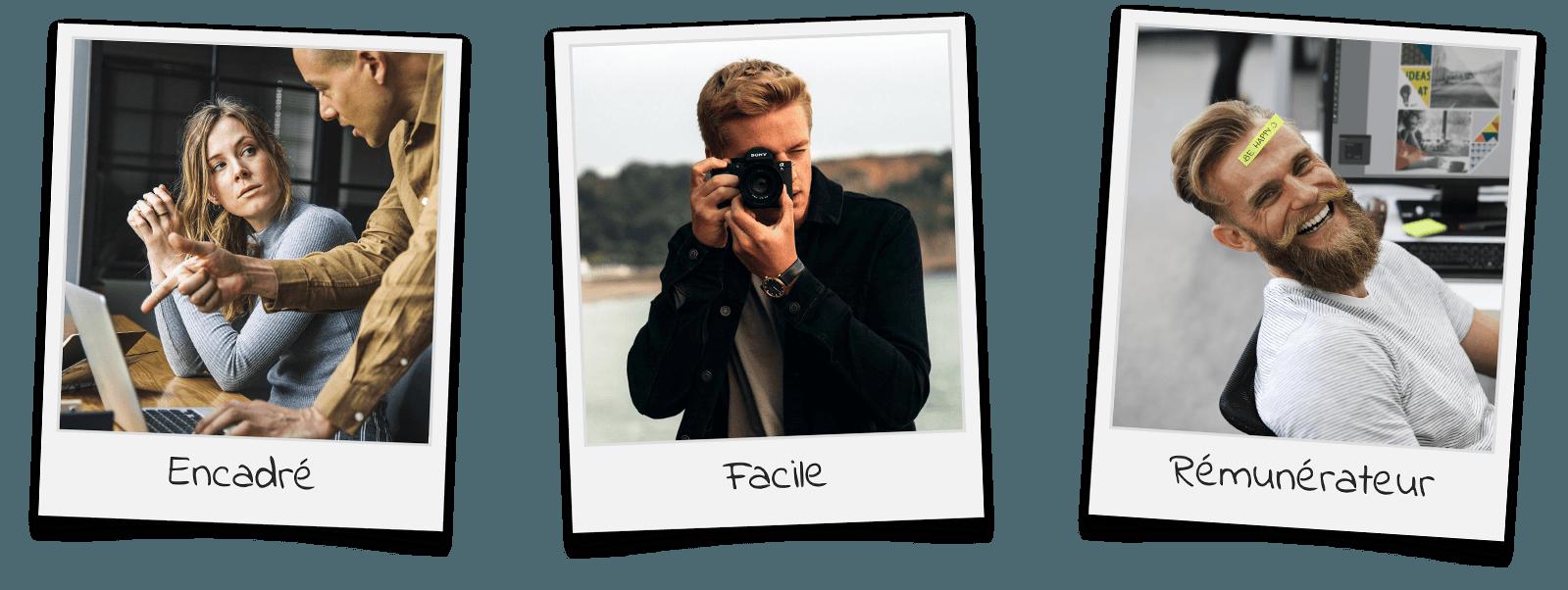 3 Polaroids (sans fond)