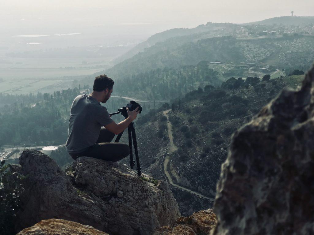 caméra filmer voyage