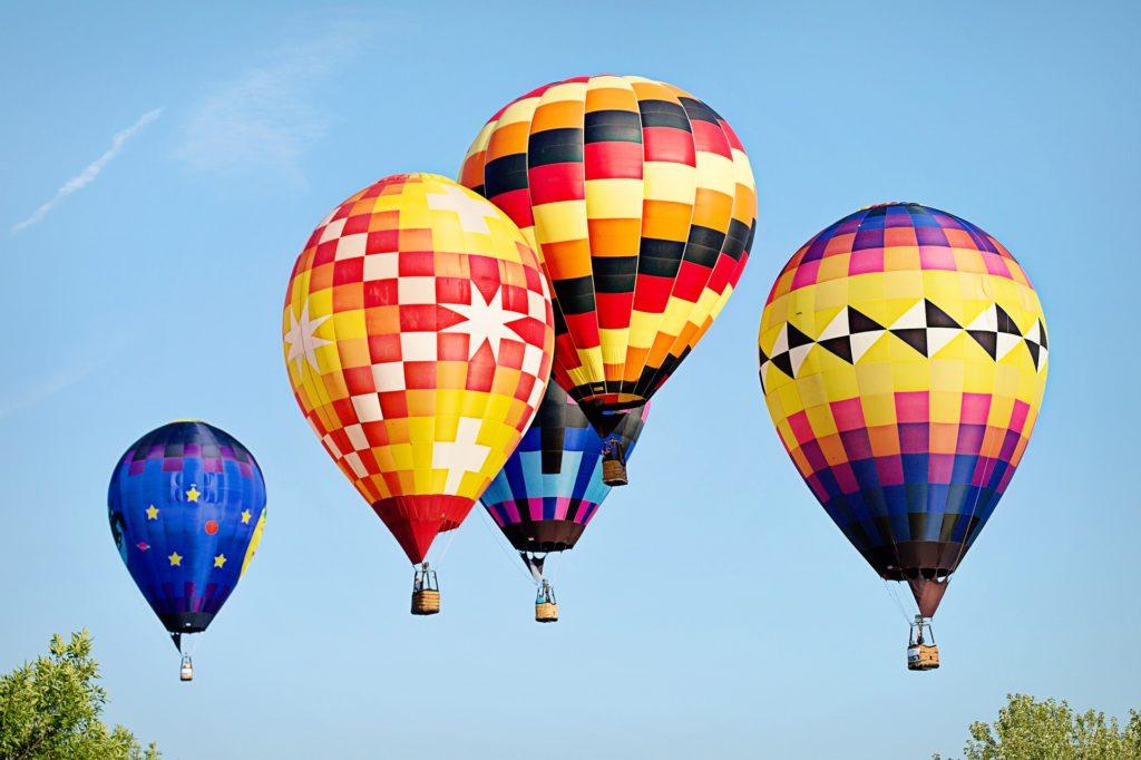 vidéo montgolfière incroyable