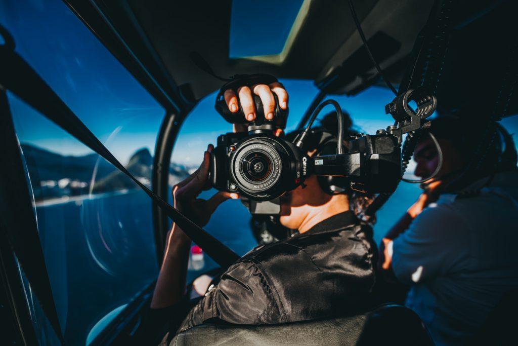 Bien filmer helicoptere