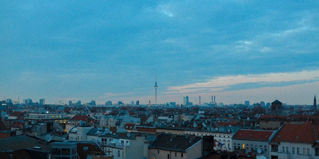 berlin rooftop view